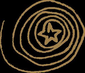 logo biennale STAR or 8384C